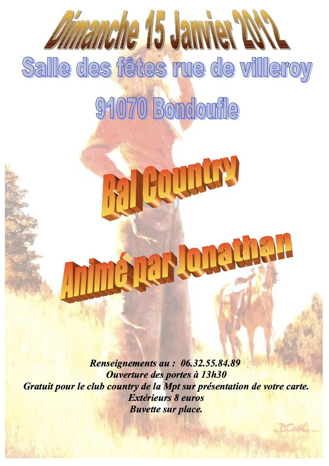 Bal country de Bondoufle